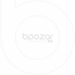 Dev Açık Renk Tasarım Beyaz Metal Köstekli Duvar Saati 61X81Cm