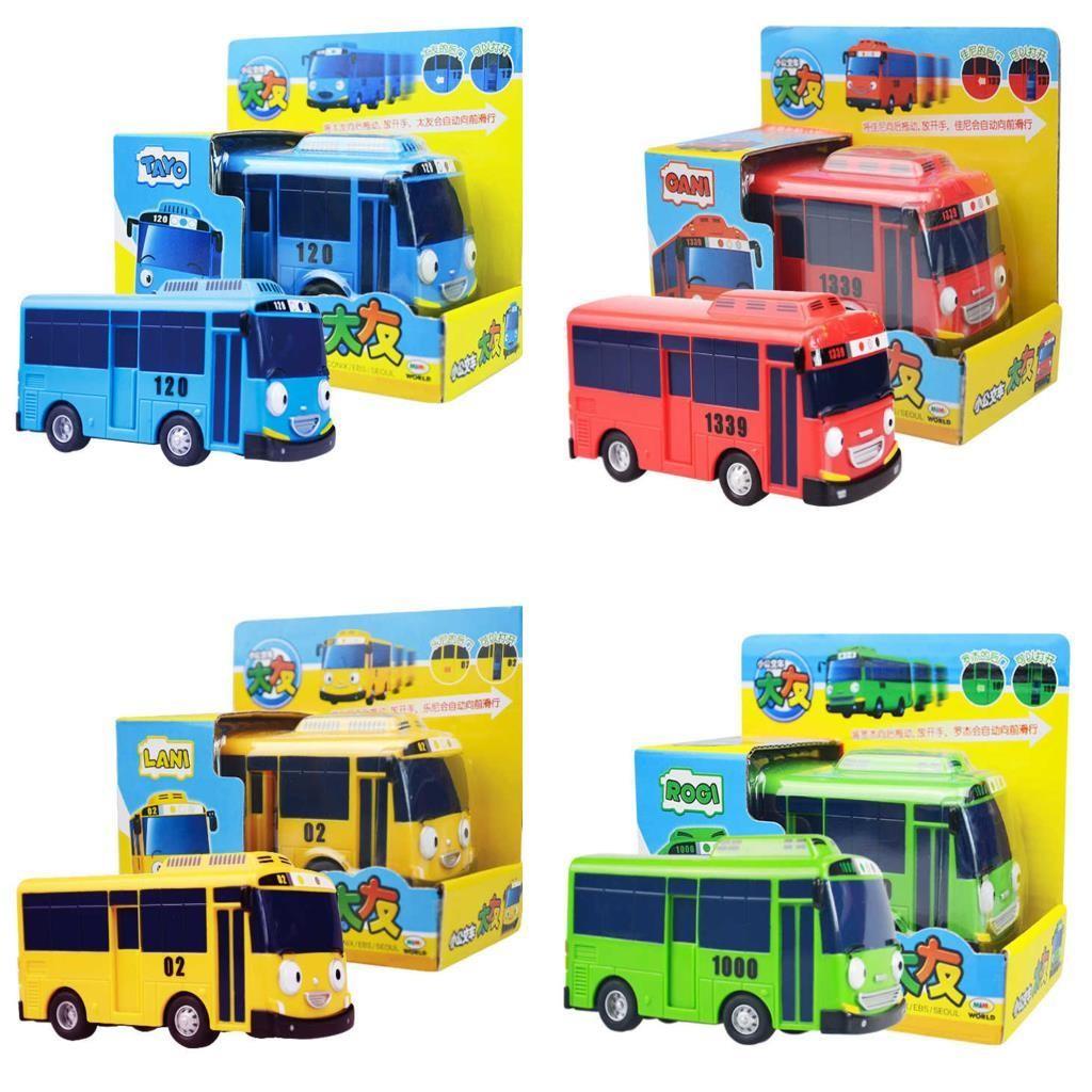 Oyuncak Sevimli Otobüsler Tayo Otobüs 7 Cm 4 Farklı Renk Tek Adet Fiyatıdır