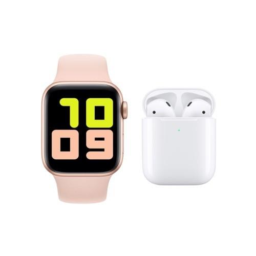 Akıllı Saat Smart Watch T500 + Airpods İ12 Kablosuz Kulaklık