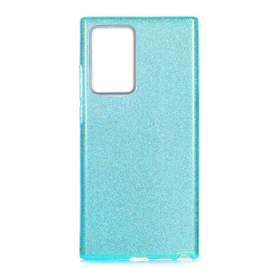 Vendas Samsung Note 20 Ultra Parlak Simli Fashion Silikon Kılıf