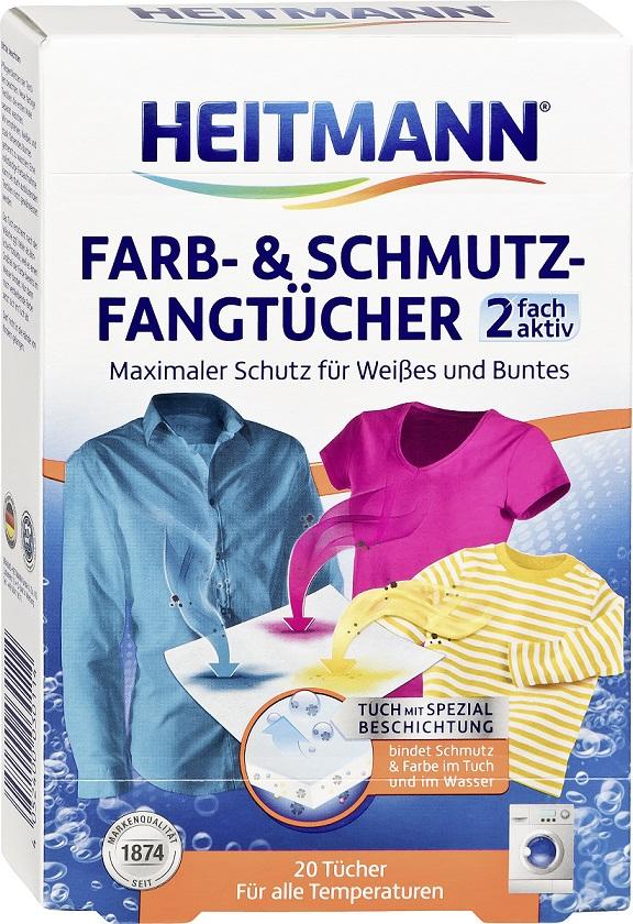 Heitmann Renkliler Için Koruyucu Mendil 20'Li