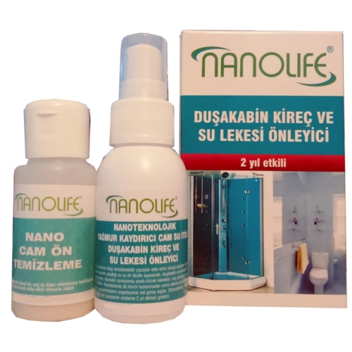 Nanolife 2 Yil Etki̇li̇ Duşakabi̇n Ki̇reç Ve Su Lekesi̇ Önleyi̇ci̇