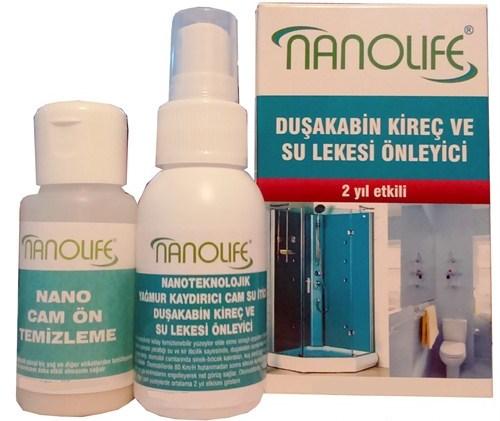 Nanolife 2 Yil Etki̇li̇ Duşakabi̇n Su Ve Ki̇reç Lekesi̇ Önleyi̇ci̇