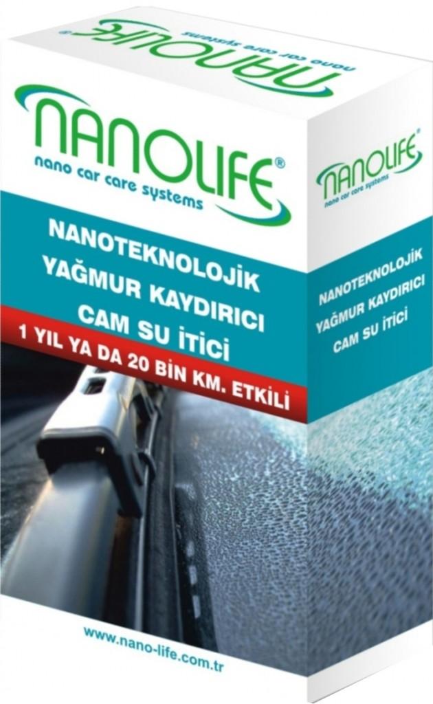 Nanolife Yağmur Kaydirici 1 Yil Ya Da 20 Bi̇n Km Etki̇li̇