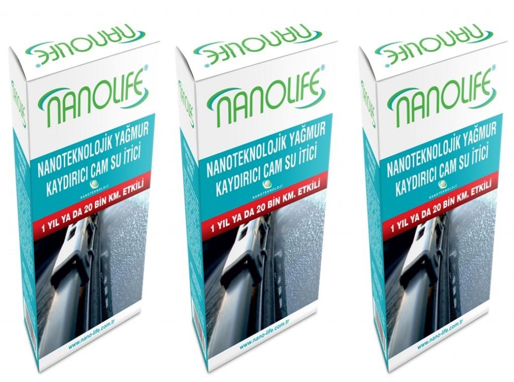 Nanolife Yağmur Kaydirici - 3'Lü Paket
