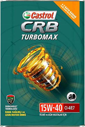 Castrol Crb Turbomax 15W-40 Motoryağ 16 Kg Tnk 2020 Dolum