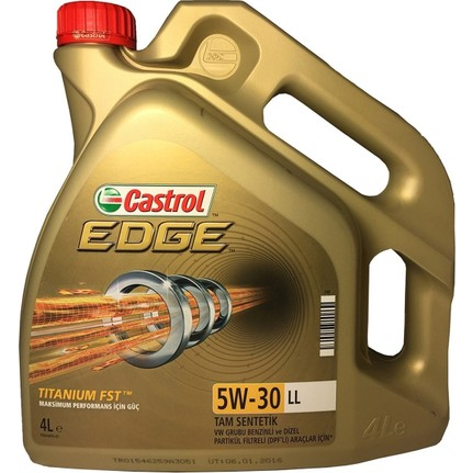 Castrol Edge 5W-30 Ll Partiküllü Motor Yağ 4 Lt 2020